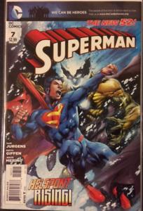 DC Comics Superman # 7 2011 VF