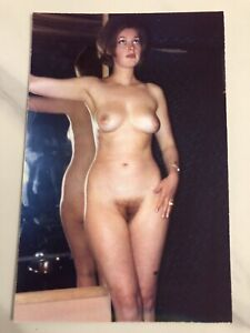 Vintage Sexy Pin Up 3.2x5 Inch Photo Risqué