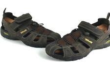TEVA Men's Sz 13 Dozer Brown Hiking Outdoor Trail Sport Sandals Shocpad EUC