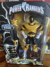 Power Rangers Zeo Legacy Collection GOLD RANGER NEW Bandai Limited Ed Sealed