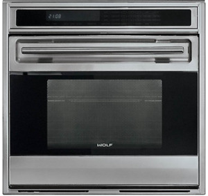 Wolf Oven Stainless Steel Extra  SO30U/S Stainless Steel