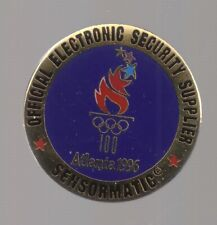 1996 Sensormatic Atlanta Olympic Pin Electronic Security Supplier
