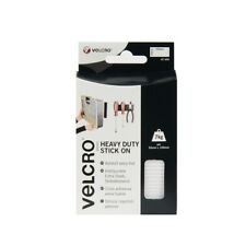 2 x VELCRO Brand Heavy Duty Stick On Self Adhesive Strips 4 x 50mm x 100mm