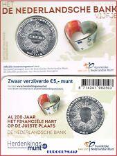 NEDERLAND - COINCARD 5 € 2014 UNC - 200 JAAR DE NEDERLANDSCHE BANK