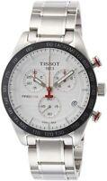 Tissot T-Sport PRS516 Chronograph Silver Steel Men's Watch T1004171103100