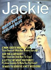 JACKIE MAGAZINE #618 BAY CITY ROLLERS ALAN COLOUR POSTER, KENNY POP SPECIAL