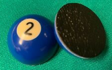 """Pocket Marker (2 Ball) - Small half ball (1.5"""")  with rubber base"""