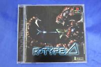PS1 R TYPE DELTA Japan PS PlayStation 1 F/S