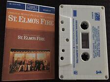 St. Elmo's Fire ~ Motion Picture Soundtrack Recording Cassette Tape