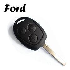 1x Ersatz Autoschlüssel Gehäuse für Ford 3 Tasten Fernbedienung mit Rohling KS09