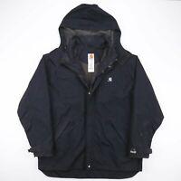 CARHARTT  Black Logo Nylon Workwear Outdoor Jacket Mens XL