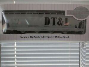 Bachmann HO Scale Silver Series 56' ACF-Center-Flow Hopper DT&I #10312