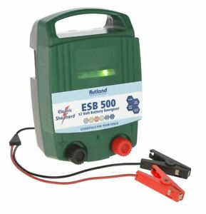 RUTLAND ESB500 FENCE ENERGISER - 12v Fencing Electric Shepherd ESB 57 ESB57