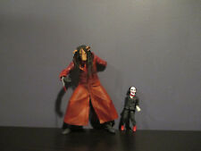 SAW III 2006 NECA Jigsaw Killer with Billy Puppet  Horror Action Figure