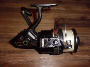 VINTAGE SHAKESPEARE SIGMA E 080 Surf/Boat Spinning Reel made in Japan