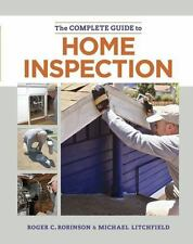 """""""THE COMPLETE GUIDE TO HOME INSPECTION"""" Book - Robinson & Litchfield ~ NEW !"""