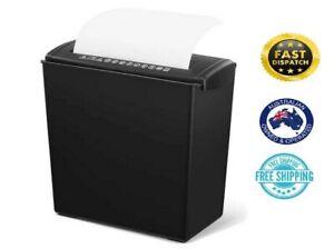 Electric Home Office A4 Paper Cutter Shredder Machine Documents Disposal Bin 10L