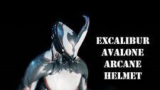 Warframe Excalibur avalon arcane helmet (PS4)
