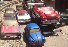 "Auto art,vw,Volkswagen,50's or 60's,wrecked,rusted,""junkyard"" 1/25 ,Barn find"