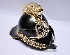 Antiqued Brass Vintage Style Firemen Helmet Fire Fighter Helmet