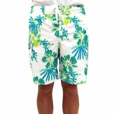 NWT $50 GOTCHA MENS SWIM / BOARD SHORTS -  WHITE FLORAL - SIZE 36