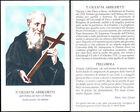 HOLY CARD SANTINO IMAGE PIEUSE - P. GIULIO M. ARRIGHETTI, dei servi di Maria