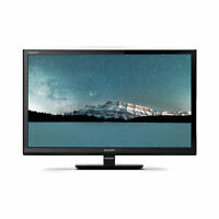 """Sharp 24"""" Inch 720p HD Ready LED TV with Freeview HD and USB PVR Record"""