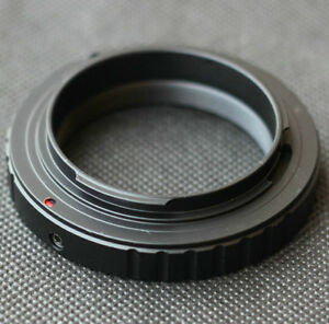 T2 T Mount Lens Adapter Ring For Canon Nikon Sony DSLR NEX E Mount M4/3 Camera