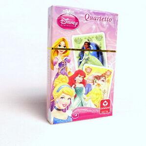 Cartamundi Playing Cards, Quartet - Disney Princesses.