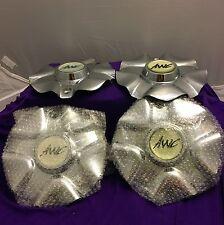 AWC Chrome Wheel Center Cap Set of Four (4) pn: 98-1211 A09