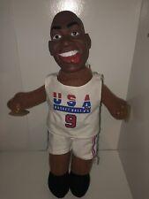 VINTAGE 1992 USA Olympics Basketball Dream Team Michael Jordan Suction Plush NBA