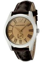 Emporio Armani AR0646 Classic Brown Leather Women's Watch