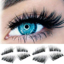 4 Pair Different Shapes Magnetic Eyelashes 3D Reusable magnet Extension lashes