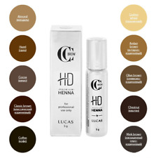 CC Brow Premium Henna HD for eyebrow biotattoo 5g UK SELLER