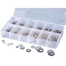 350 Pc. Stainless Lock and Flat Washer Assortment ATD-360 Brand New!