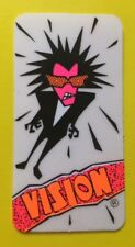 Vision 80's Psycho Stick N/OS Skateboard Sticker Skate Punk Art Neon Cool Rad!