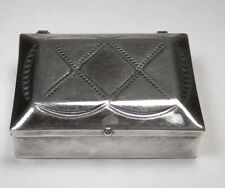 Vintage Sterling Silver Snuff/ Pill/ Other Rectangle Box
