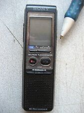 Used SONY ICD-P330f digital voice recorder, 64MB, up to 1930 min. Voice Activate