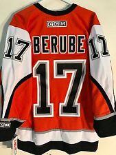CCM Classic NHL Jersey Philadelphia Flyers Craig Berube Orange sz S