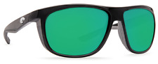 COSTA DEL MAR KIWA POLARIZED KWA11 OGMP SUNGLASSES BLACK/GREEN 580P LENS