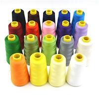 Polyester Sewing Thread 5000 yard Cones Industrial Overlocker Sewing Machine