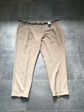 BNWT F&F Limited Edition Natural Slim Fit Peg Leg Trousers Sz 20