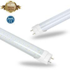 10 25pack G13 4ft T8 LED Tube Bulbs Light 36W  6500K 110V Milky Clear Cover Lamp