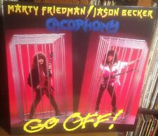 MARTY FRIEDMAN/JASON BECKER*CACOPHONY go off! 1988 DUTCH ROADRUNNER METAL VINYL