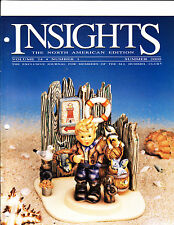 2000 goebel Collector's club Insights Magazine volume 24 number 1 summer