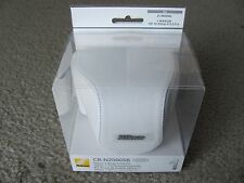 Brand New Nikon CB-N2000SB White Leather Body Case Set for Nikon 1 (J1/J2)