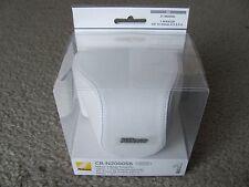 Brand New Nikon CB-N2000SB White Leather Body Case Set for Nikon 1 (J1/J2)