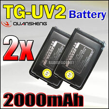 2x Quansheng Battery 2000Mah for TG-UV2  012