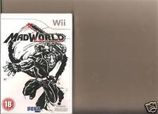 MADWORLD NINTENDO WII RATED 18 GORY MAD WORLD SEALED