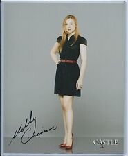 MOLLY QUINN 8x10 AUTOGRAPHED